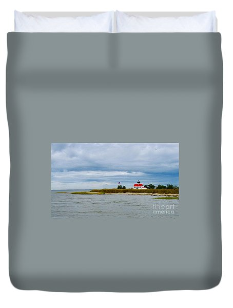 East Point Lighthouse Duvet Cover