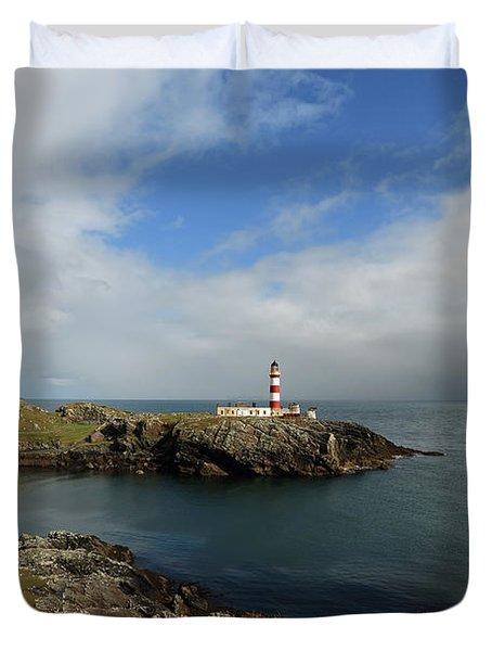 Eilean Glas Lighthouse Duvet Cover