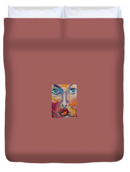 Face Duvet Cover