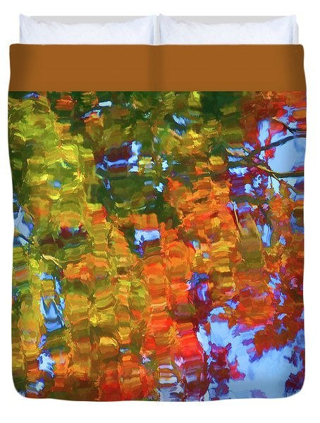 Perfect Lake Duvet Cover by Lanjee Chee
