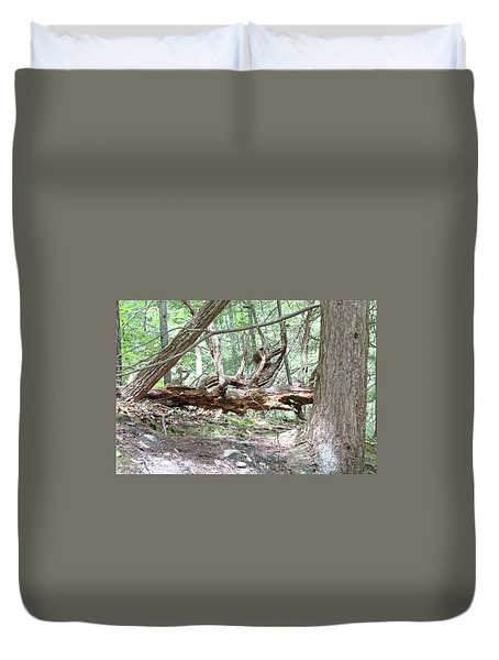 Fallen Tree Duvet Cover