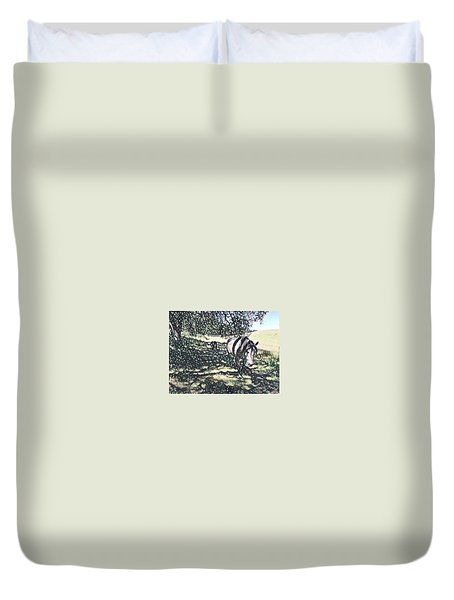 Fat Camp Duvet Cover