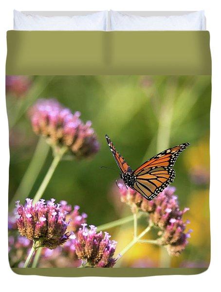 Flight Of The Monarch 1 Duvet Cover