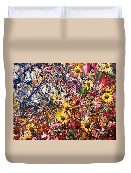Flourish Detail Duvet Cover