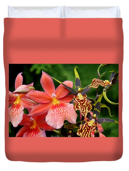 Duvet Cover featuring the photograph Flower Edition by Bernd Hau