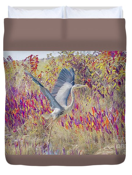 Fly Fly Away Duvet Cover by Judy Kay