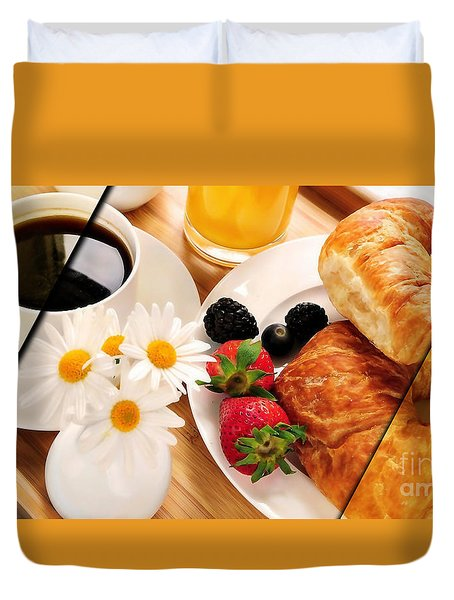 Food Collection Duvet Cover