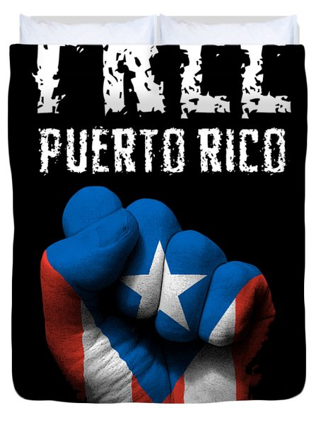 Free Puerto Rico Duvet Cover