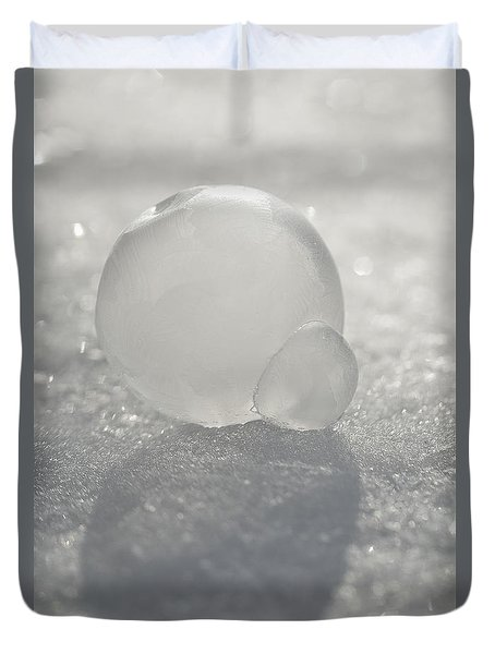Frozen Bubble Duvet Cover