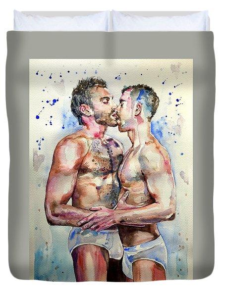 Gay Love Duvet Cover