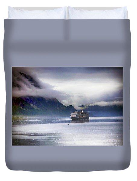 Glacier Bay Alaska Duvet Cover