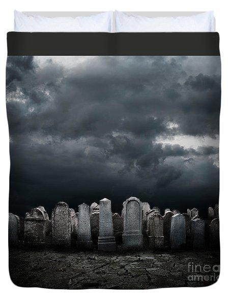 Graveyard Duvet Cover