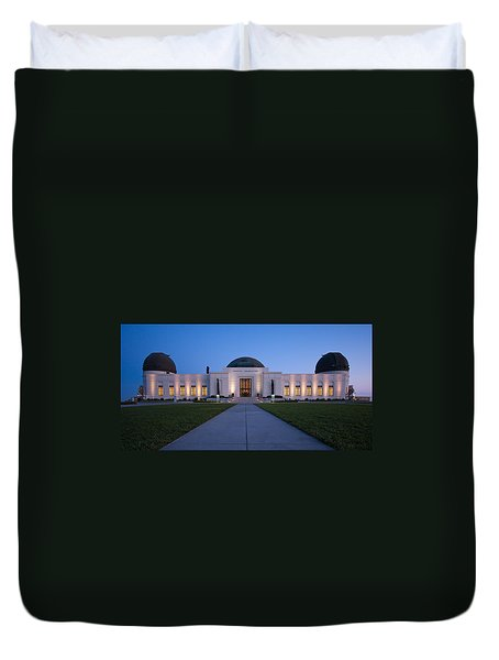 Griffith Observatory Duvet Cover