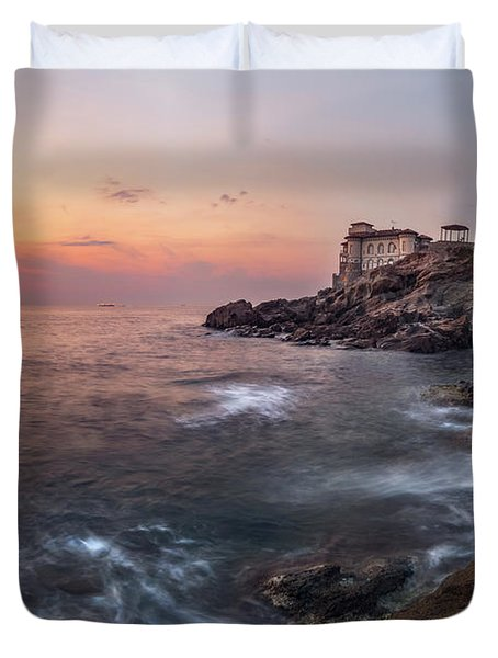 Guardian Of The Sea Duvet Cover