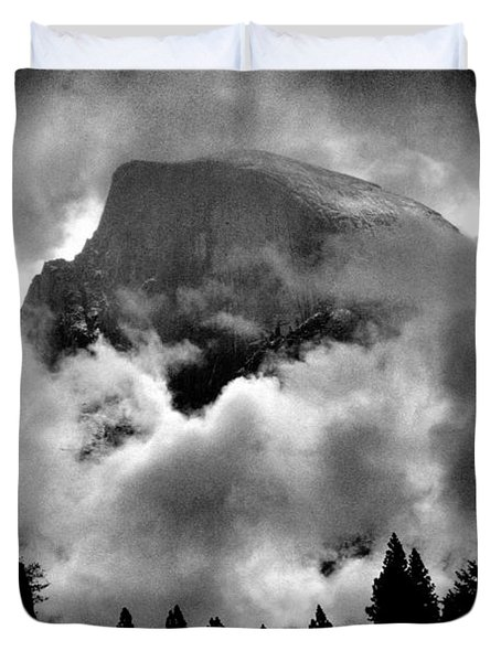 Half Dome And Clearing Storm Duvet Cover