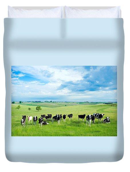 Happy Cows Duvet Cover
