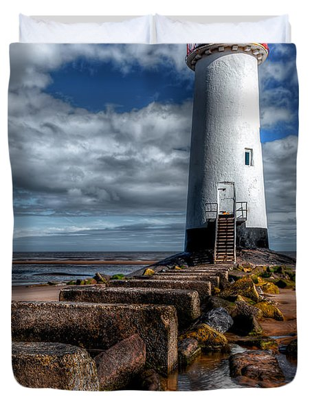House Of Light Duvet Cover by Adrian Evans