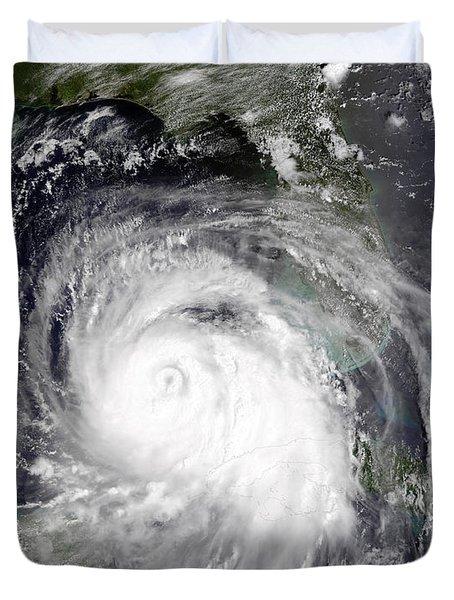 Hurricane Katrina Duvet Cover