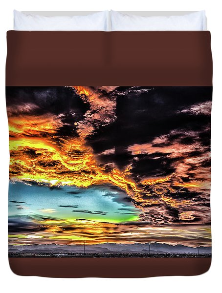 I Am That I Am Duvet Cover by Michael Rogers