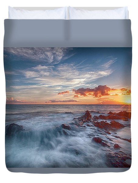 Into The Mystic Duvet Cover