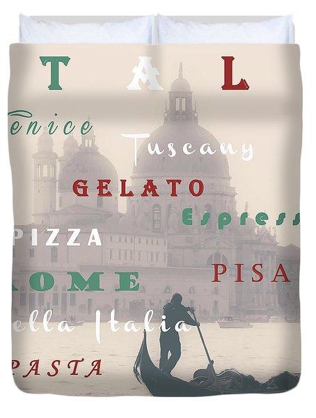 Italy Duvet Cover