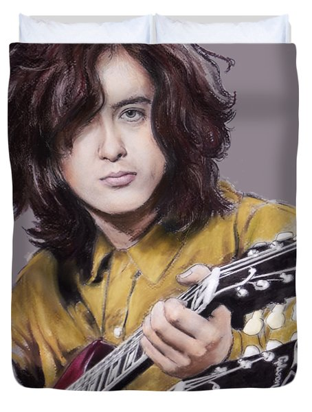Jimmy Page 1 Duvet Cover