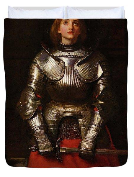 Joan Of Arc Duvet Cover