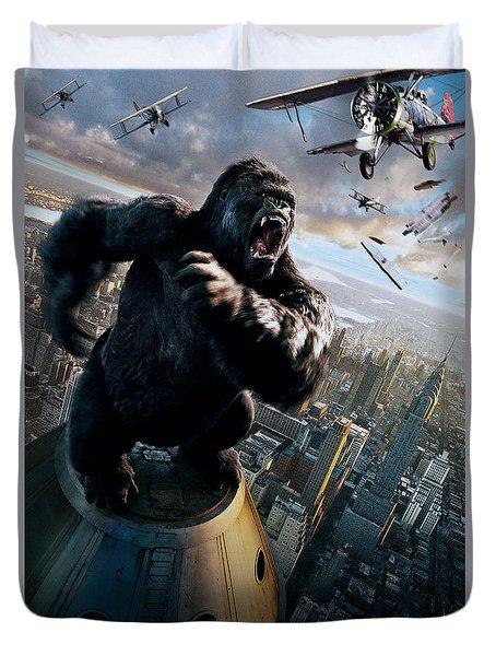 King Kong 2005  Duvet Cover