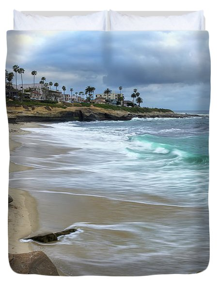 La Jolla Shores Duvet Cover