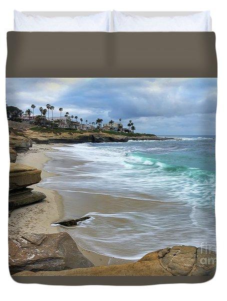 La Jolla Shores Duvet Cover