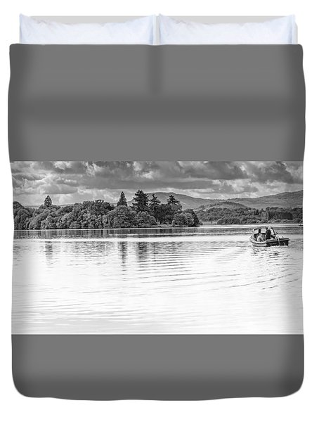 Lake Of Menteith Duvet Cover