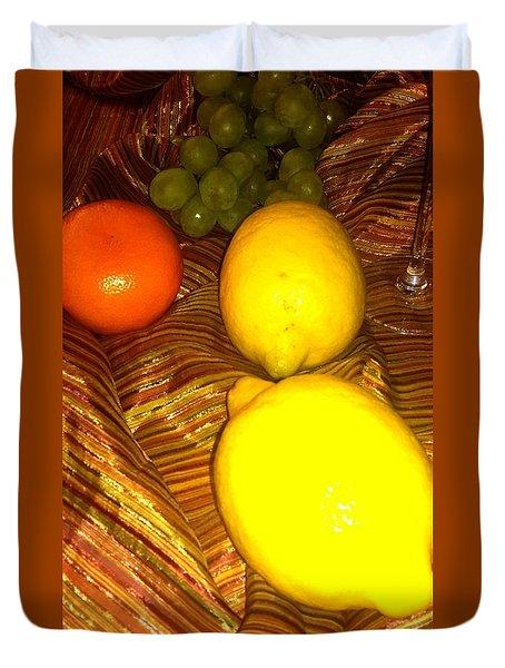 2 Lemons Duvet Cover