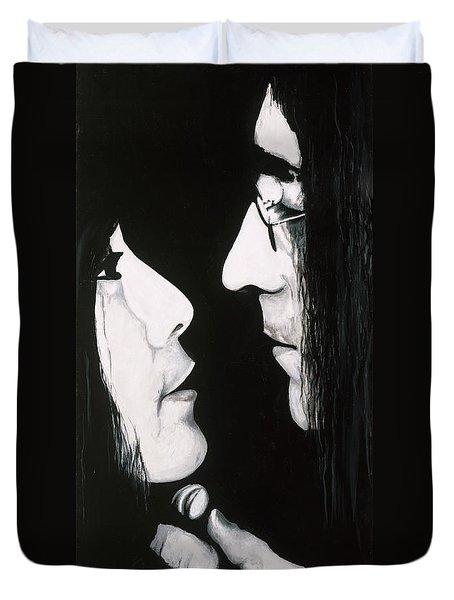 Lennon And Yoko Duvet Cover