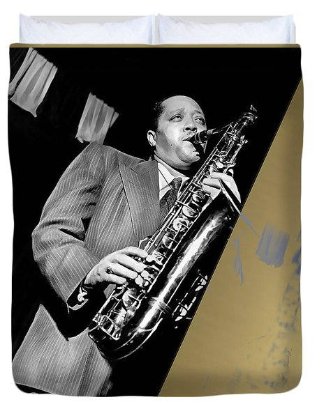 Lester Young Collection Duvet Cover