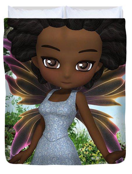 Lil Fairy Princess Duvet Cover by Alexander Butler