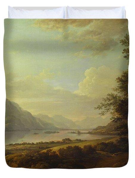 Loch Awe, Argyllshire Duvet Cover