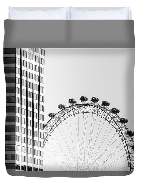 London Eye Duvet Cover by Joana Kruse