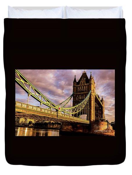 London Tower Bridge. Duvet Cover