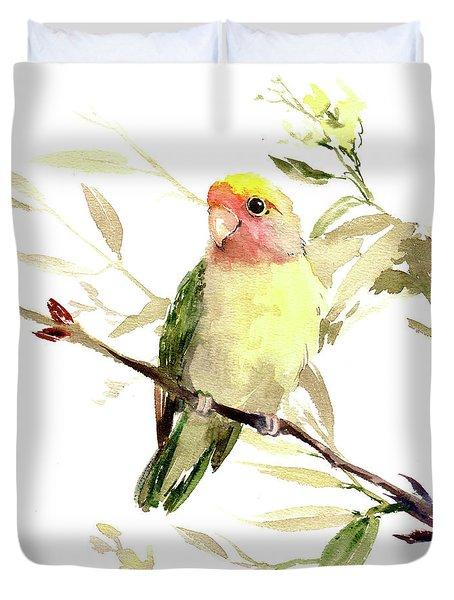 Lovebird Duvet Cover by Suren Nersisyan