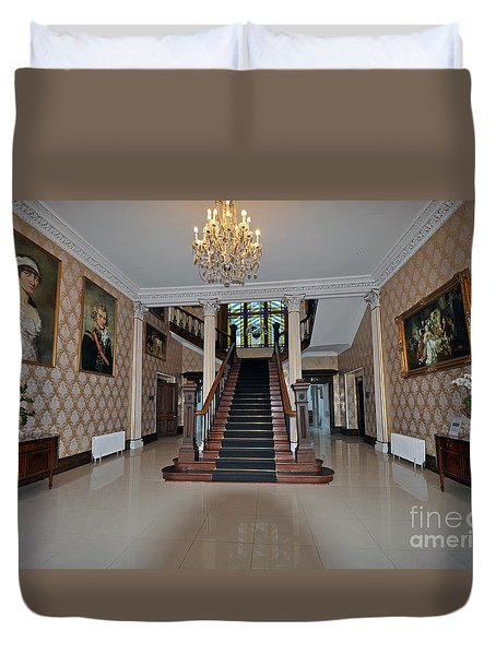 Lyrath Estate Hotel Duvet Cover by Cindy Murphy - NightVisions