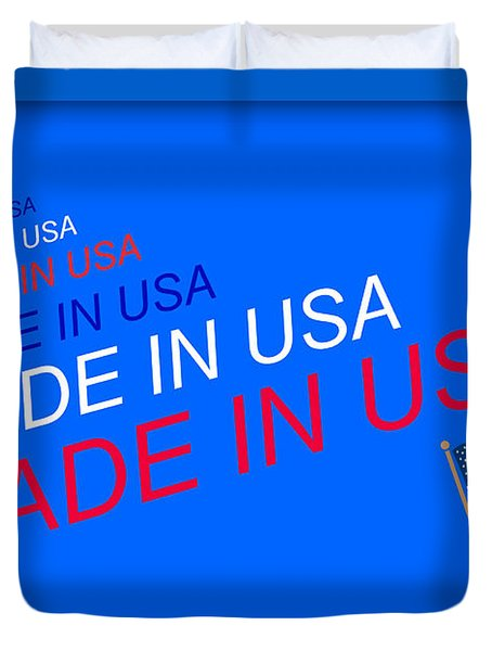 Made In Usa Duvet Cover