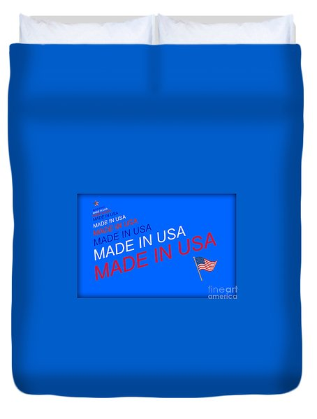 Made In Usa Duvet Cover