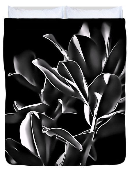 Magnolia Leaves Duvet Cover