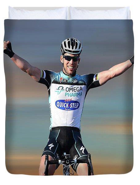 Mark Cavendish 3 Duvet Cover