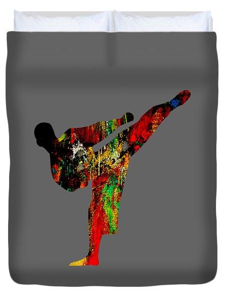 Martial Arts Collection Duvet Cover