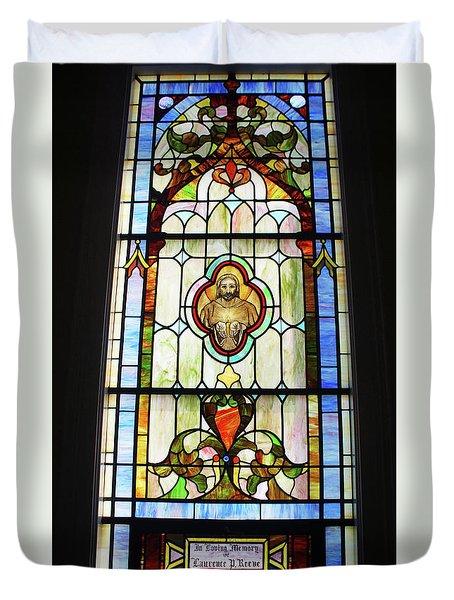Mattituck Presbyterian Church Duvet Cover