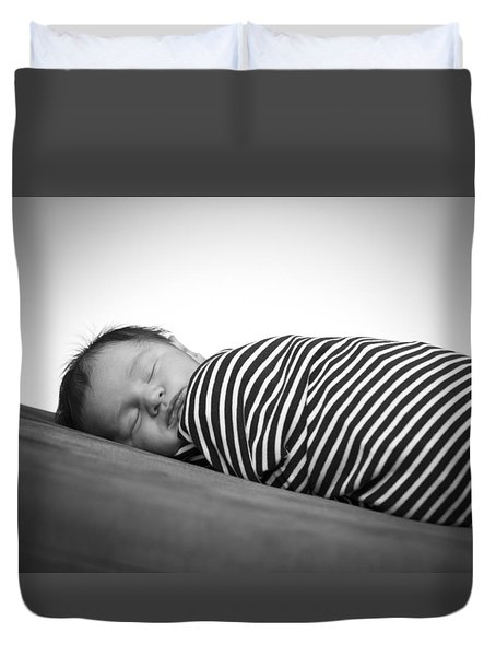 Max Duvet Cover by Marlo Horne