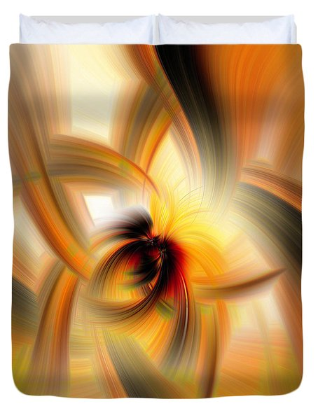 Mellow Yellow Duvet Cover