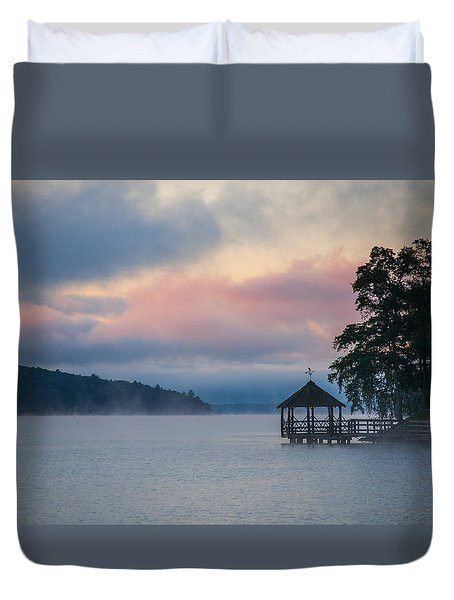Meredith New Hampshire Duvet Cover by Robert Clifford
