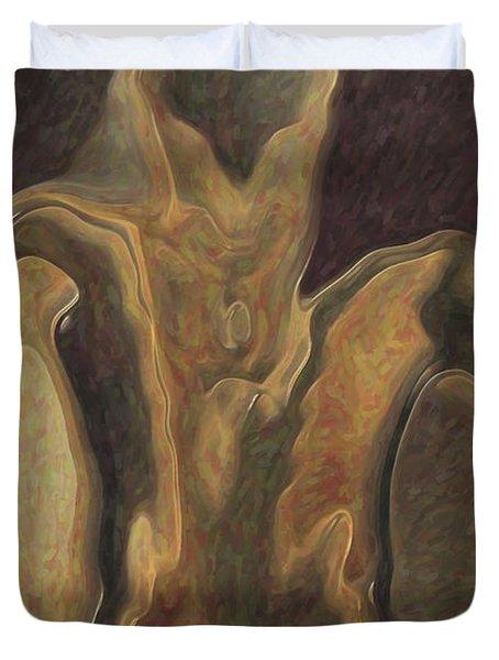 Minotaur  Duvet Cover by Quim Abella